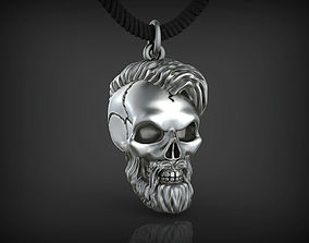 Pendant Skull 01 3D print model