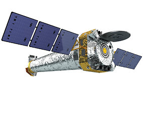 Satellite Chandra X-ray Observatory 3D
