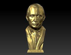 Putin statue 3D print model