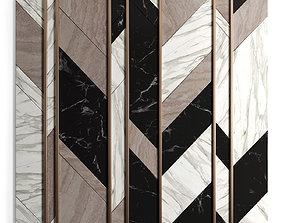 Marble panels 3D