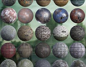 3D Post-apocalyptic environment set - PBR textures
