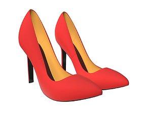 3D Female footwear 04