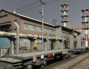 Industrial Buildings 2 3D asset