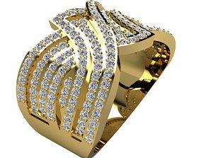 precious Woman Ring 3d Pring Model