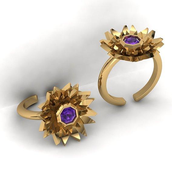 3d-model flower rings