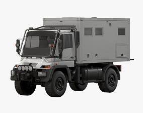 Motorhome MB Unimog U500 3D model