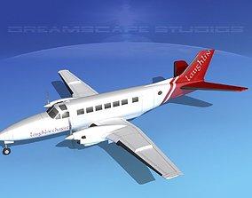 Beechcraft B99 Laughlin Charter 3D