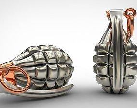 Grenade 3d print model weapon model for print stl 3dm 1