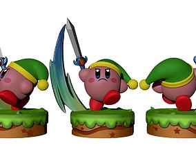 Kirby Link FanArt 3D print model