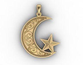 3D printable model Muslim pendant