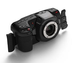 Blackmagic Pocket Cinema Camera 4K opening flaps 3D