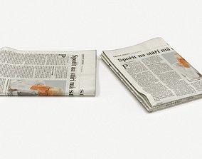 newspaper 3D