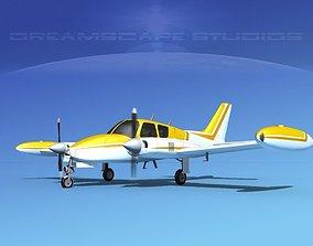 3D Cessna 310 V15