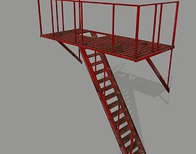 3D model realtime Fire Escape