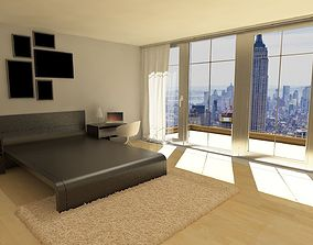 Luxury Style bedroom 3D
