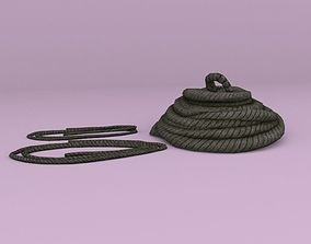 game-ready Lowpoly Rope Models