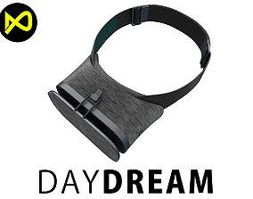 3D model Google DayDream VR Headset Black