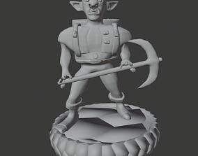 Dark Gnome DND Svirfneblin 3D print model