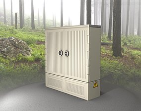 3D asset Electrical Distribution Cabinet 115