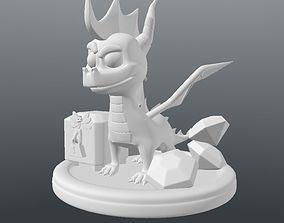 3D Print Spyro The Dragon