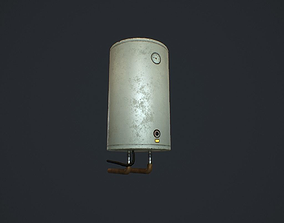 Boiler pbr 3D model realtime