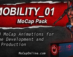 3D asset MOBILITY - MoCap Animation Pack
