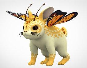 Monarch Bunnyfly 3D model