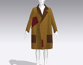 Autumn coat 3D print model