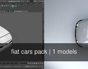fiat cars pack 3D model