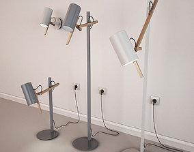 3D model Marset Scantling Lamp Set