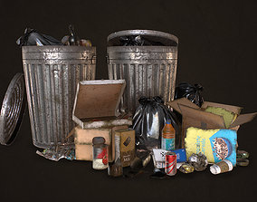 Urban Trash Pack Vol 1 3D model