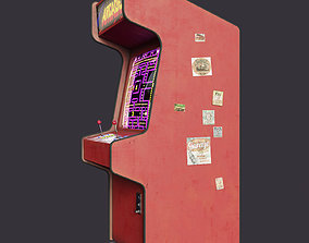 Arcade Machine 3D asset