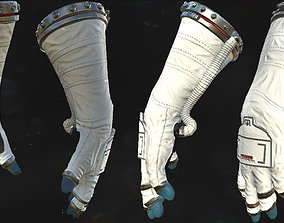 Astronaut VR Hands I Animated I 3D asset