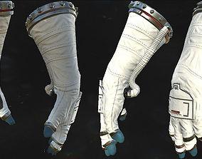 Astronaut VR Hands I Animated I Optimized 3D asset