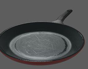 3D asset VR / AR ready Frying Pan