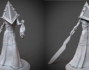 Silent Hill Pyramid Head 3D printable model