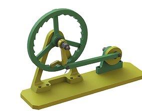 3D print model Ratchet Mechanism