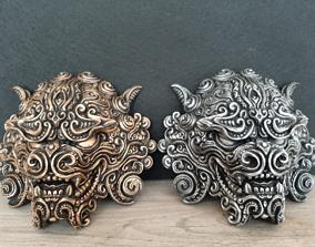 3D printable model Guardian Lion