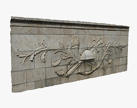 3D model Relief Wall