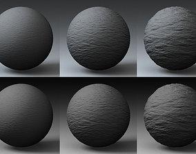 Displacement Landscape Shader 006 3D model