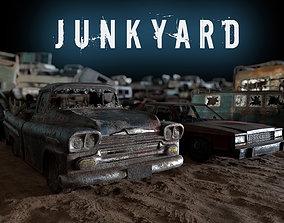Junkyard 3D asset