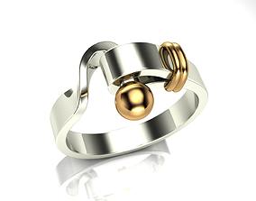 Unique Ring Design - 2 3D printable model