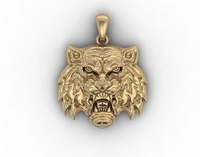 Tiger Amur pendant 3D print model