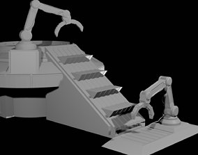 Cargo Elevator for Small Platforms 3D printable model