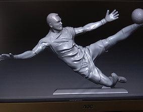 3D printable model Russian goalkeeper Akinveev