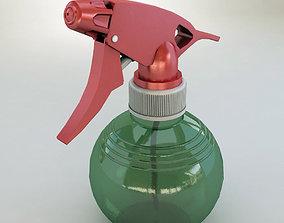 Spray bottle 3D asset