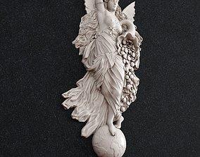 Fortune goddess 3D print model