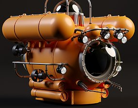 bathyscaphe 3D model