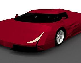 Hypercar Vision J17 3D model