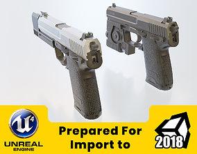 3D model HK USP 45 HL2 style